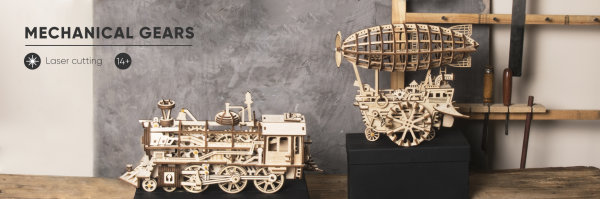 3D Puzzle Mechanisch