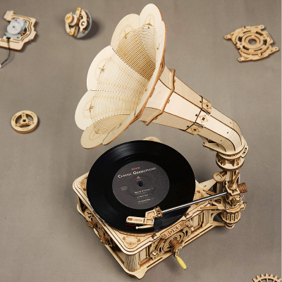 3D Mechanische Musikboxen