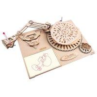 3D Da Vincis Zeichenmaschine