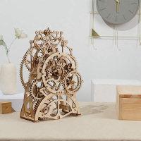3D Holzpuzzle Pendel Uhr LK501