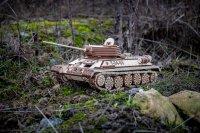 Eco Wood Art Panzer  T-34-85