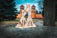 Eco Wood Art Trebuchet