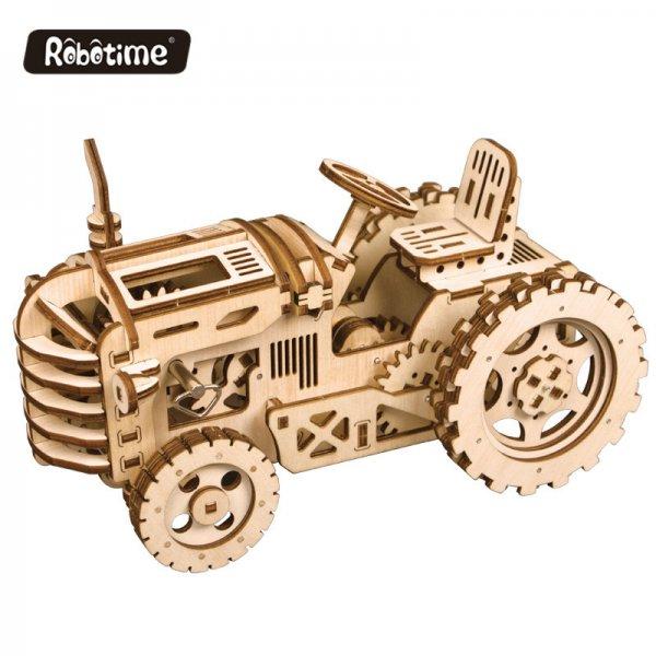 Holzpuzzle Traktor LK401 3D