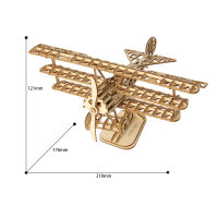 Flugzeug 3D Holzpuzzle TG301