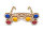 Eco Wood Art 3D Brille Goggels Triangel