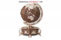 ECO WOOD ART 3D Globus braun