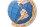 ECO WOOD ART 3D Globus blau