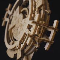 3D Holzpuzzle Ewiger Kalender LK-201 shop.holzpuzzle-3d.de Bild 4