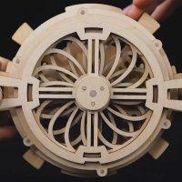 3D Holzpuzzle Ewiger Kalender LK-201