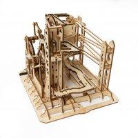 Marble Explorer Murmelbahn 3D Holz LG-503 shop.holzpuzzle-3d.de Bild 4