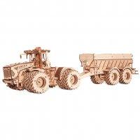 Eco Wood Art: Kirovets K-7M Sparpaket (Traktor + Trailer)