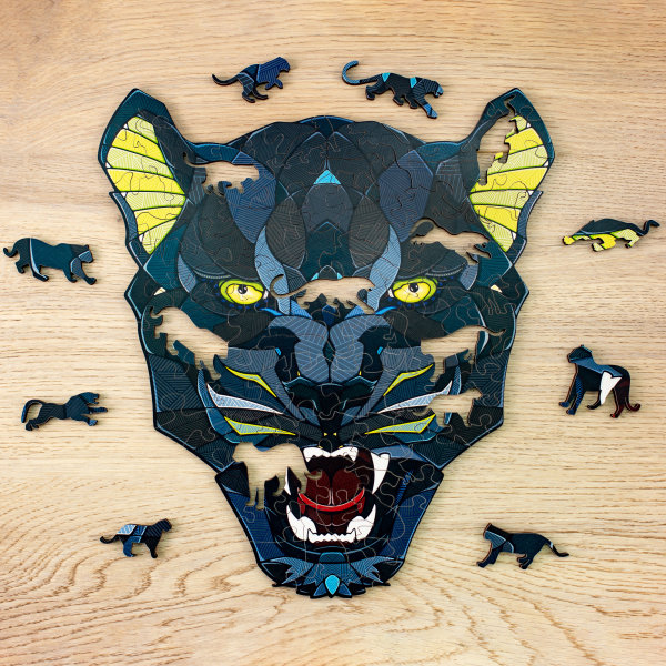 Panther ECO WOOD ART PUZZLE