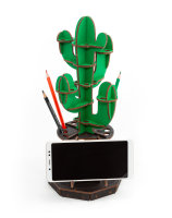 EWA PUZZLE ORGINIZER Kaktus grün