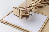 3D DA VINCIS Zeichenmaschine -DER ROBOTOR SD-003 40 cm Holz 92-teilig shop.holzpuzzle-3d.de Bild 4