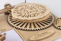 3D DA VINCIS Zeichenmaschine -DER ROBOTOR SD-003 40 cm Holz 92-teilig shop.holzpuzzle-3d.de Bild 5