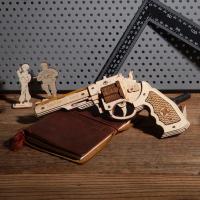 3D Holzpuzzle Pistole -Corsac M60 LQ-401