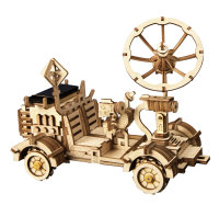 3d Holzpuzzle Space Rambler Rover Solarbetrieben LS401