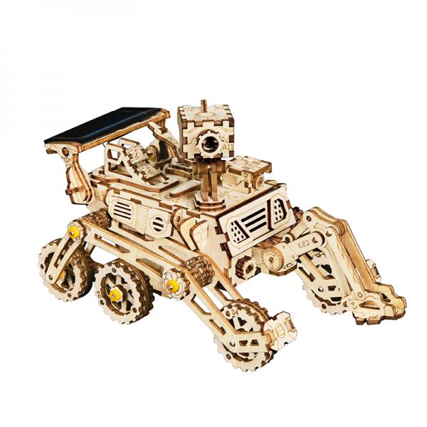 3D Holzpuzzle Space Harbinger Rover Solarbetrieben LS402