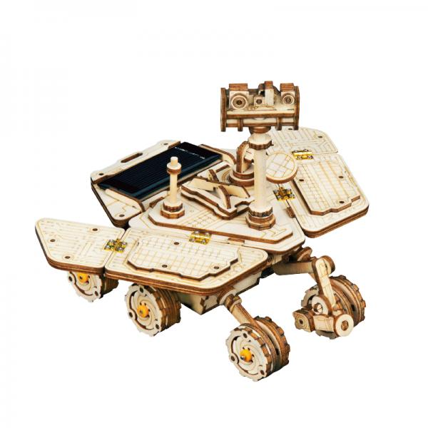 3D Holzpuzzle Space Vagabond Rover Solarbetrieben LS503
