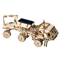 3D Holzpuzzle Space Navitas Rover Solarbetrieben LS504