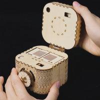 3D Holzpuzzle Tresor Schatzkammer LK-502 shop.holzpuzzle-3d.de Bild 5