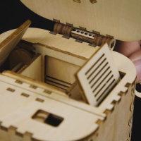 3D Holzpuzzle Tresor Schatzkammer LK-502