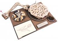DA VINCIS Zeichenmaschine - Der Gambler  SD-001 40 cm Holz 122-teilig