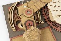DA VINCIS Zeichenmaschine The Slayer SD-002 40 cm Holz 141-teilig shop.holzpuzzle-3d.de Bild 4