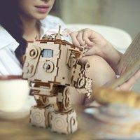 3D Holzpuzzle Steampunk-Roboter AM601