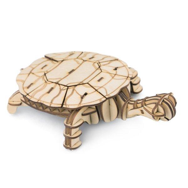 Schildkröte 3D Holzpuzzle TG275