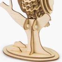 Eule 3D Holzpuzzle TG252 shop.holzpuzzle-3d.de Bild 5