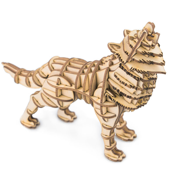 Wolf 3D Holzpuzzle TG207