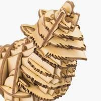 Wolf 3D Holzpuzzle TG207 shop.holzpuzzle-3d.de Bild 4