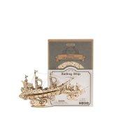 Segelschiff 3D Robotime TG305 shop.holzpuzzle-3d.de Bild 5