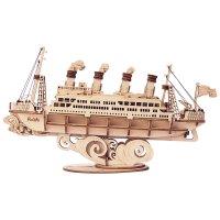 Dampfschiff 3D Holz TG306