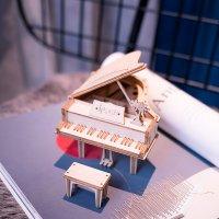 Klavier 3D Holzpuzzle TG402