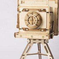 Vintage Kamera  3D Holzpuzzle TG403