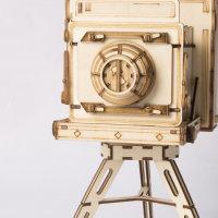Vintage Kamera  3D Holzpuzzle TG403 shop.holzpuzzle-3d.de Bild 5