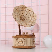 Gramophone 3D Holzpuzzle TG408