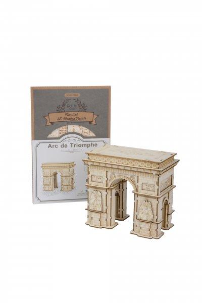 Arc de Triomphe de l'Étoile 3D Holzpuzzle TG502