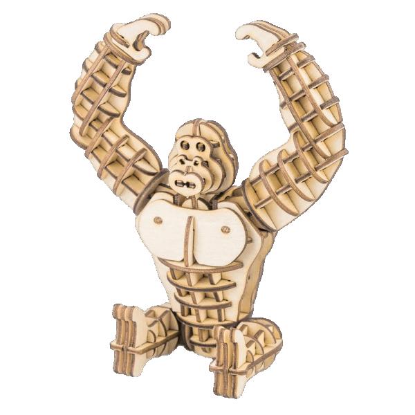Gorilla  3D HolzpuzzleTG201