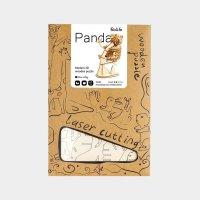 Panda  3D Holzpuzzle TG202 shop.holzpuzzle-3d.de Bild 5
