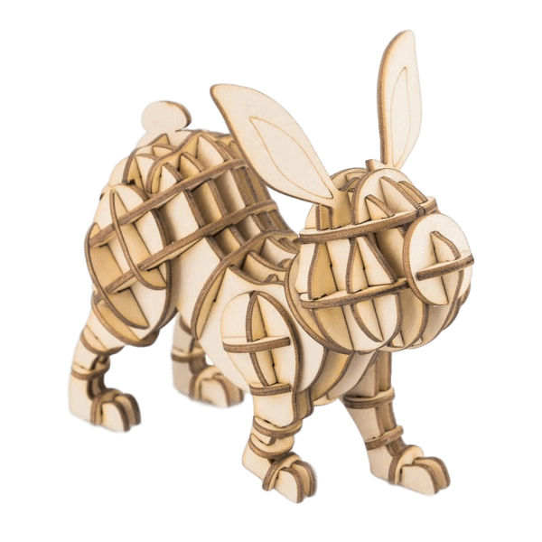 Hase  3D Holzpuzzle TG233
