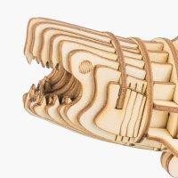 Hai  3D Holzpuzzle TG274 shop.holzpuzzle-3d.de Bild 4