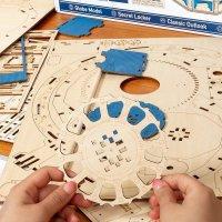 Globus 3D Holzpuzzle ST002 shop.holzpuzzle-3d.de Bild 4