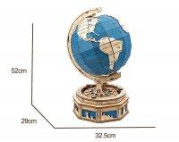 Globus 3D Holzpuzzle ST002 shop.holzpuzzle-3d.de Bild 5