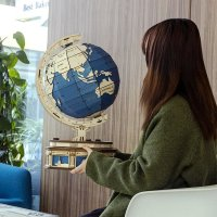 Globus 3D Holzpuzzle ST002