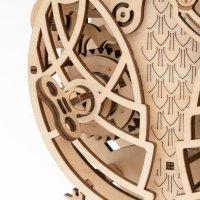 Eulen 3D  Pendel Uhr LK503 shop.holzpuzzle-3d.de Bild 5