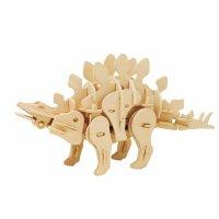 STEGOSAURUS SOUND GESTEUERT  3D Holzpuzzle