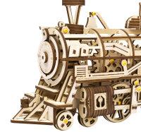 3D Holzpuzzle Dampflokomotive LK-701 shop.holzpuzzle-3d.de Bild 4